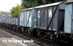 GWR Pick Up Goods Train (10 Wagons)